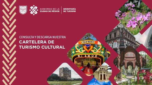 Cartelera de Turismo Cultural de la CDMX